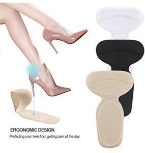 2 Protezioni adesive talloni cuscinetto imbottito silicone piede tacchi suolette