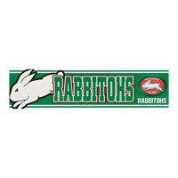 South Sydney Rabbitohs NRL LOGO Car Bumper Sticker 300mm x 75mm Man Cave