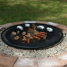 """Sunnydaze Cooking Grate X Marks Outdoor Fire Pit Grill Accessory - 40"""" Diameter"""