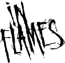 In Flames Logo ca 10 cm x 10 cm viele Farben DECUT DECAL ANSEHEN