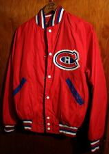 Vintage Montreal Canadiens Hockey D&R Sports Satin Jacket!