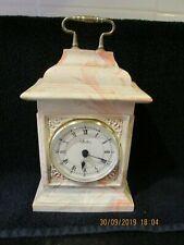 AYNSLEY PORTLAND CARRIAGE CLOCK