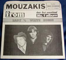 "Garage Psych MOUZAKIS ""Lady/White Horse"" 45 1971 BRITISH MAIN Picture Sleeve NM"