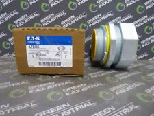 NEW Eaton LTB300 Straight Male Connector with Insulated Throat Bushing 3""