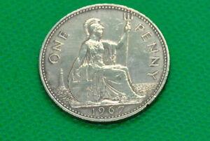 1967 ONE PENNY ELIZABETH II