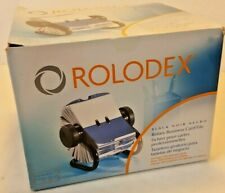 Rolodex Open Rotary Business Card File With 200 2 58 X 4 Card Sleeve 67236 New