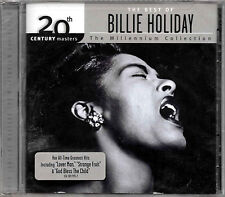 BILLIE HOLIDAY - The Millenium Collection - 2002 CD ALBUM - New & Sealed