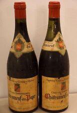 vin CHATEAUNEUF DU PAPE 1943 Crû des Garrigues bouteille 75cl Côtes du Rhône