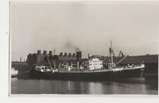 SS Dromore Plain Back Photo Card Shipping 102a