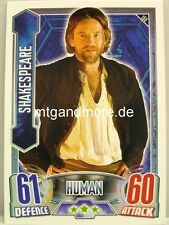 #166 Shakespeare - Alien Attax Doctor Who