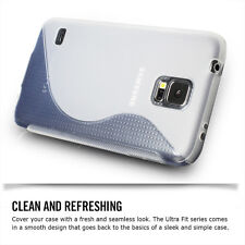 [NEW RELEASE] Premium Flexible S Type TPU Soft Case Cover for Samsung Galaxy S5