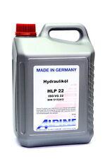Hydrauliköl HLP22  ISO  DIN 51524/2 HLP 5 Liter Alpine M1135