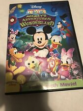 Mickey Mouse Clubhouse: Mickey's Adventures in Wonderland DVD (2010) Mickey