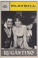 """""""Rugantino"""" FLOP Playbill  1964 OPENING NIGHT Nino Manfredi, Aldo Fabrizi"""