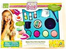 Style Me Up Candy Pop Lip Shine Balm Craft Makeup Kit Toys For Girls 8+ Years