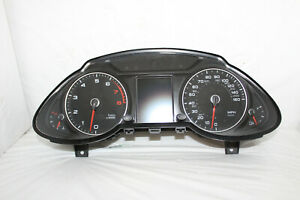 Speedometer Instrument Cluster 2013 Audi Q5 Dash Panel Gauges 87,666 Miles