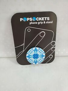 Popsocket Phone Grip And Stand Blue Watercolor Abstract Brand New