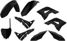 Polisport Restyle Plastic Kit Set New Style 18' Black Honda CR125R CR250R 02-07