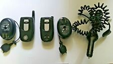 2 qty. Motorola i series i710 - Black (Nextel) Cellular Phones