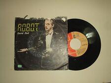 """David Zed / R.O.B.O.T.(Erreobioti) – Disco Vinile 45 Giri 7"""" Stampa Italia 1980"""
