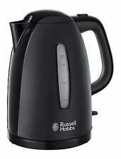 RUSSELL HOBBS 21271 TEXTURES KETTLE, 1.7L, 3000W, BLACK  ***BRAND NEW***