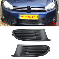 Left + Right Front Lower Bumper Grille Frame Cover Fit For VW Golf MK6 2009-2013