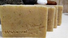 Dog shampoo soap 100% Vegan natural flea tick bar Diatomaceous Earth+Neem oil