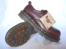 Vintage Dr. Doc Martens Youth Burgundy Analine 4 Eye Gibson Shoe UK 3 ORIGINAL