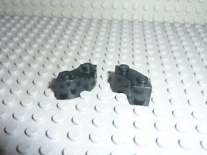 2x LEGO Vintage Black bricks 3063 / Set 6085/6086/6953/6210/10188/5590/5571/7784