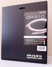 NEW Oyaide Audio Digital Cable DR-510 0.7m DR-510/0.7 RCA from JAPAN