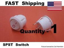 BASIC 2 wire replacement UNIVERSAL switch AC or DC voltages - ON - OFF SPST