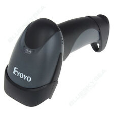 High Speed EYOYO 2D QR Wired Scan Barcode Code Scanner Reader Fr win10 Handheld