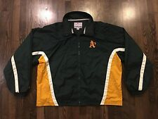 Majestic Oakland A's Athletics Lightweight Baseball Jacket Size 2XL XXL