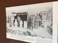 m8-7 ephemera 1938 ww1 picture guillemont 1916 canteen