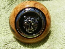 Jaguar Burl Wood XK8 XJ8 XJ6 XJS XJR Inlaid Shift Knob