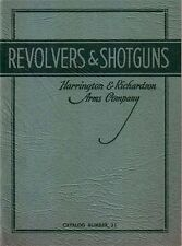 Original Harrington & Richardson 1936 Catalog