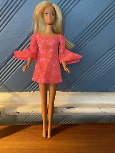 Vintage 1966 twist and turn Bendable Knees Barbie Doll Blonde Made In Japan