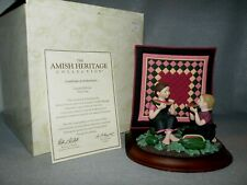 Willitts Amish Heritage 1993 First Edition ~Best Friends~ Ruth & Eileen Mib