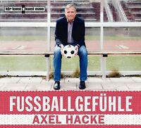 AXEL HACKE - FUßBALLGEFÜHLE 3 CD NEU