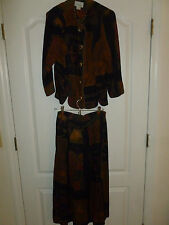 VINTAGE Blouse and Skirt Set by Periwinkle U.S size 10