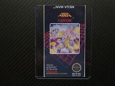 Mega Man Megaman Nes Replacement Game Label Sticker Precut