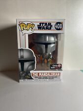 Funko Pop! Star Wars #408 Gamestop Excl. The Mandalorian with Blaster+ Protector
