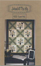 Flower Pots ~ Quilt Quilting Pattern ~ by Joined at the Hip 222
