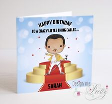 FREDDIE MERCURY Birthday Card - Husband Boyfriend Wife I Love You QUEEN