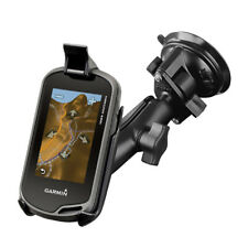 RAM Twist-Lock Suction Cup Mount for Garmin Oregon 200, 750T + More