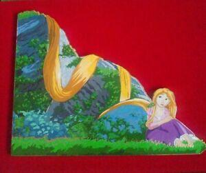 Acme Disney Rapunzel Punzi Pascal - LE 100 - Jumbo Pin with Lithograph - Artist