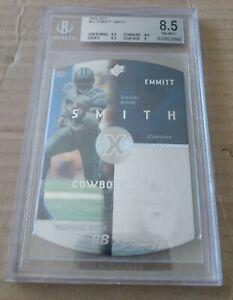 1998 SPX #12 Emmitt Smith Dallas Cowboys HOF- BGS 8.5 NM-MT+