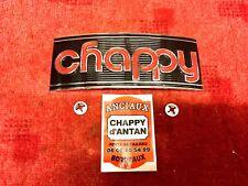 CHAPPY EMBLEME  ECHAPPEMENT