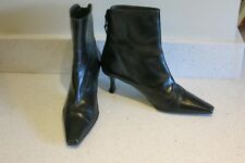 RUSSELL & BROMLEY/ STUART WEITZMAN black ankle boots size EU38 UK5 US7