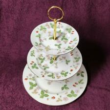 Wedgwood Wild Strawberry 3-Tier Cake Stand For Afternoon Tea